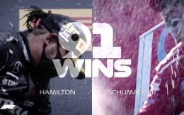 汉密尔顿生涯91冠追平舒马赫