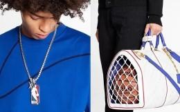 奢侈品牌LV发布NBA联名男装系列