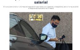 塞尔电台:巴萨再要求球员与员工降薪 幅度30%