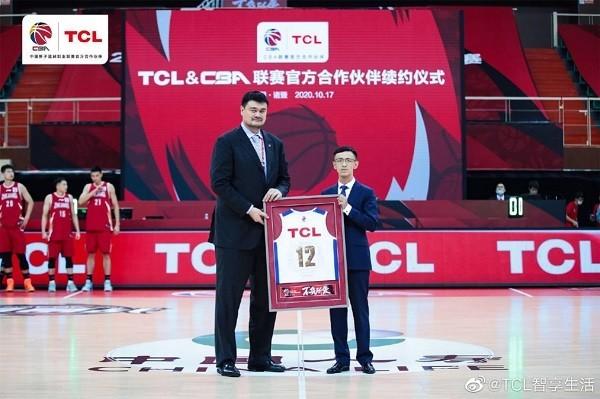 """TCL续约CBA联赛,用""""智慧科技""""助阵新赛季火热开战"""