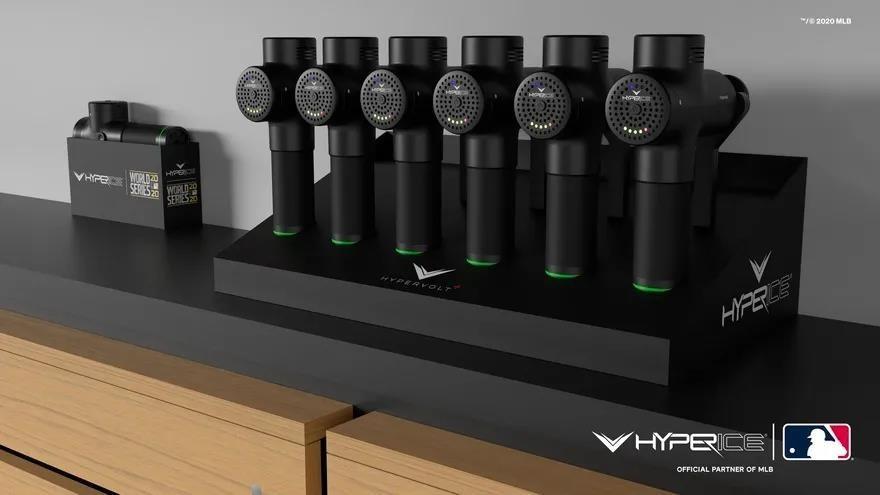 筋膜枪品牌Hyperice 与美国职业棒球大联盟达成合作