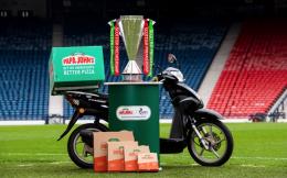 苏格兰职业足球联赛与世界三大披萨品牌之一棒约翰签订三年合作协议