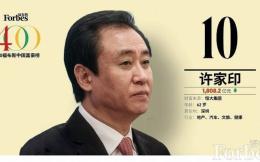2020福布斯中国富豪榜马云蝉联榜首 许家印第十中超4老板上榜