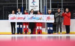 《北京2022年冬奥会——冰上运动》纪念邮票首发 杨扬等冰上名将惊喜现身