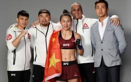 闫晓楠豪取UFC六连胜 或将挑战张伟丽