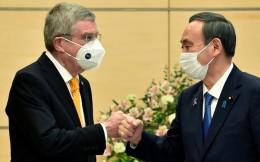 日本首相菅义伟与IOC主席巴赫会谈,决心明年夏季举办奥运会