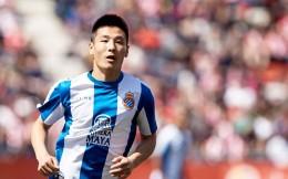 武磊身价跌至600万欧元 仍居中国球员首位