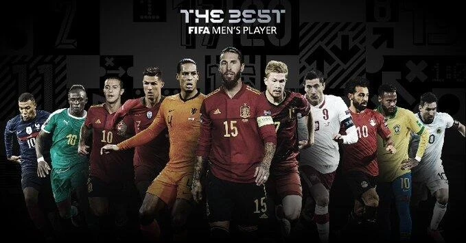 FIFA公布年度最佳球员候选名单:莱万PK梅西C罗