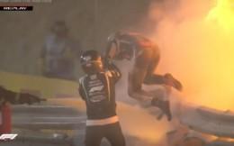 F1史诗级事故!赛车被撞成两截起火爆炸,格罗斯让火海爬出死里逃生