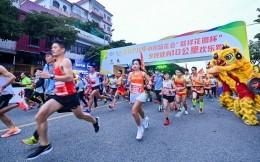 """2020年小榄菊花会""""联祥花园杯""""全民健身10公里欢乐跑鸣枪开跑"""