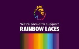 """英超未来两年将持续与公益组织Stonewall合作 支持""""彩虹系带""""活动"""