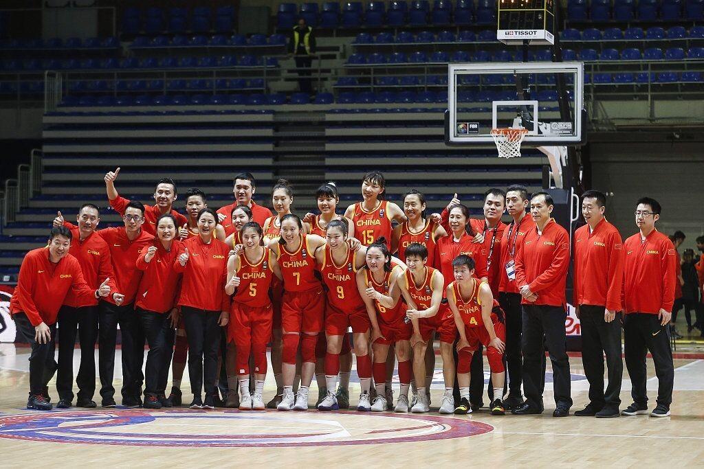 中国篮协拟推荐国家女篮为年度全国三八红旗集体候选集体