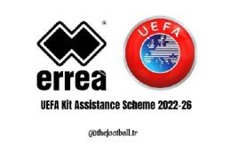 意大利运动品牌Errea成为欧足联服装赞助商