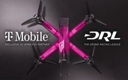 T-Mobile成为DRL无人机竞速联盟美国独家5G合作伙伴
