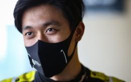 F1阿布扎比青年车手测试 周冠宇位列第九