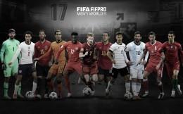 FIFA年度最佳阵容:梅罗连续14年入选 拜仁4人入选