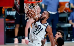 NBA史上第三大合同!戈贝尔5年2.05亿续约留守盐湖城