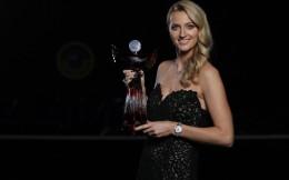 网球名将科维托娃荣膺2020年度捷克最佳运动员