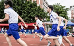 广州中考体育长跑满分标准提高 选择游泳项目考生增加