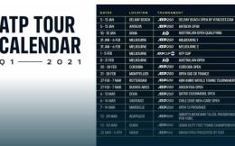 2021年一季度ATP巡回赛日历出炉 印第安维尔斯公开赛推迟