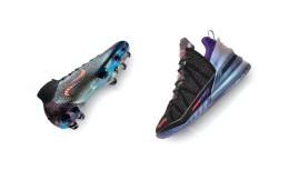 詹姆斯姆巴佩跨界携手!耐克推出足篮巨星联名鞋款The Chosen 2