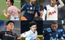 亚足联2020年最佳留洋球员候选出炉 孙兴慜、阿兹蒙领衔 武磊未入选