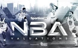 2021年NBA球队估值榜:尼克斯54.2亿美元居首,湖人51.4亿美元第三