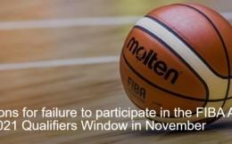 中国篮协、中国台北篮协、韩国篮协遭国际篮联重罚116.8万元+扣分