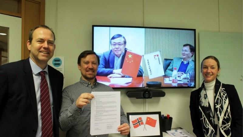 中挪反兴奋剂机构续签双边合作协议