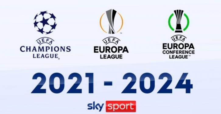 天空体育拿下2021-24赛季欧冠、欧联、欧会赛事转播权
