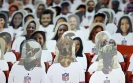 超级碗助威纸板人:花费7天安装,为NFL回笼300万美元资金