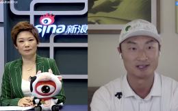 李昊桐与新浪高尔夫视频连线:练球效果挺好临场发挥仍需沉淀