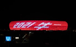 莱万五福贺岁、安联球场拜年,揭秘6冠王拜仁的中国情