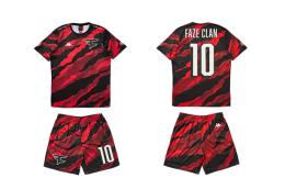 电竞战队FaZe Clan再与Kappa合作 推出限量足球服