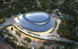 """杭州亚运会电竞场馆以""""星际漩涡""""为设计理念,总建筑面积约8万平方米"""