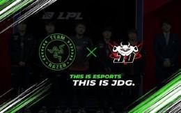 雷蛇与JDG达成合作关系,成为俱乐部独家外设合作伙伴