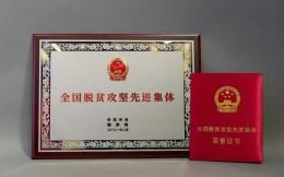 """万达集团获""""全国脱贫攻坚先进集体""""荣誉称号 王健林出席表彰大会"""