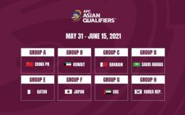 官宣!中国承办国足所在小组剩余40强赛场次