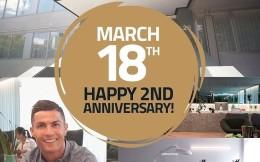 C罗庆祝植发店成立两周年:帮5000人实现梦想