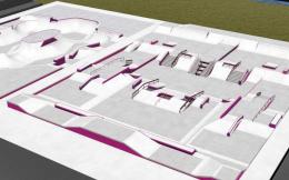 东京奥运会滑板场地设计出炉,预计5月上旬竣工