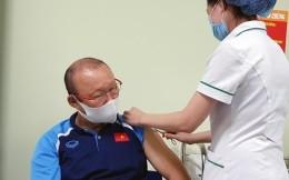 越南国家男足队接种新冠疫苗