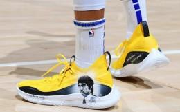 优质偶像!库里推出李小龙联名球鞋,支持亚裔受害家庭