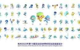 """杭州亚运会运动""""表情包""""已上线"""