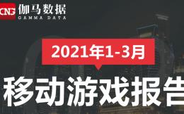 2021年Q1中国手游报告:收入588.3亿,同比环比双增长