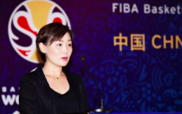 宋丹娜以中国篮协公司筹备组副组长身份亮相