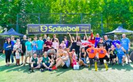 全国首场Spikeball锦标赛亮相北京