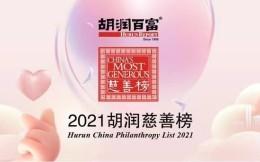 2021胡润慈善榜:拼多多黄峥120亿居首 恒大许家印24亿位列第三