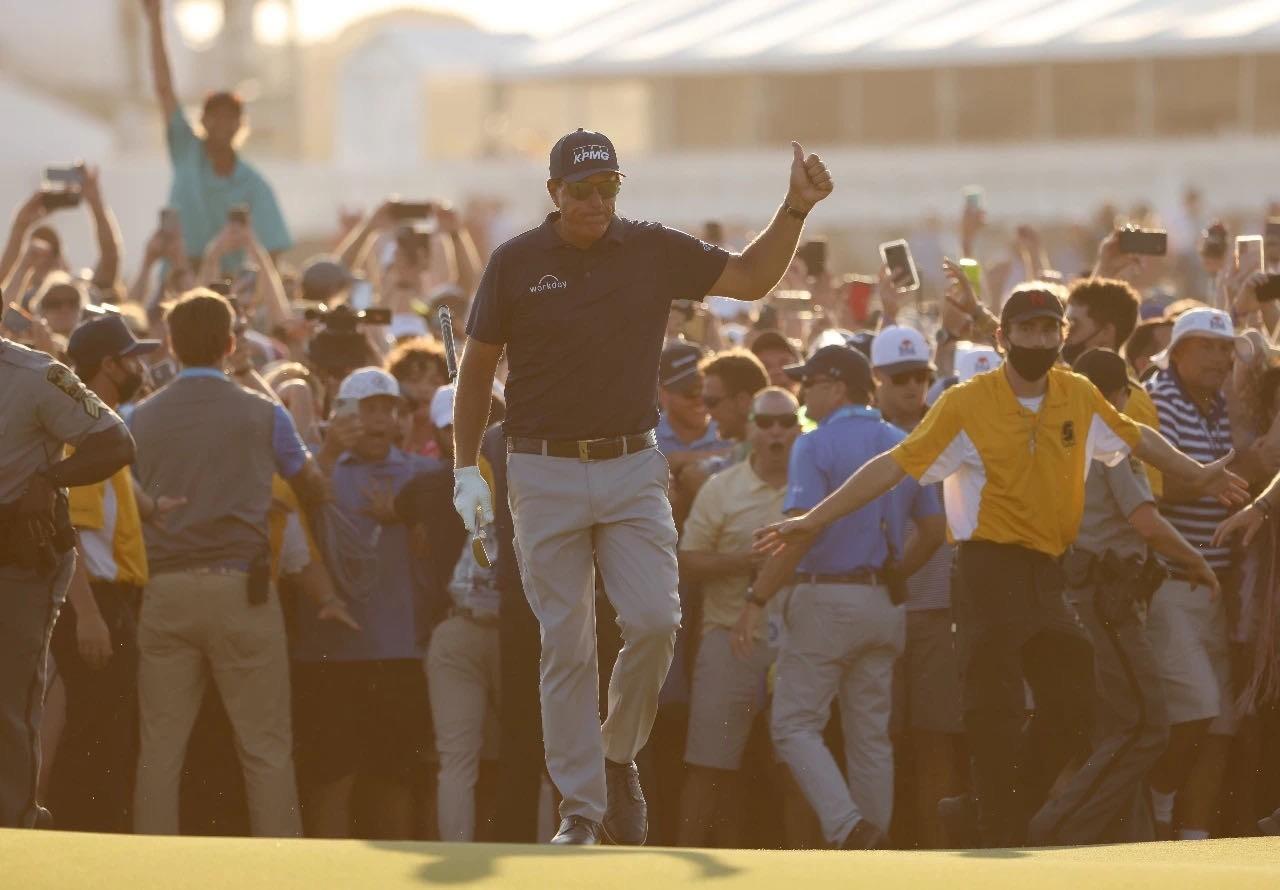有惊无险!米克尔森赢得PGA锦标赛 创大满贯纪录