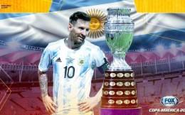 阿根廷1-0巴西夺得美洲杯冠军 梅西内马尔同时当选最佳球员