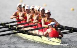 东京奥运会第一日赛艇开赛